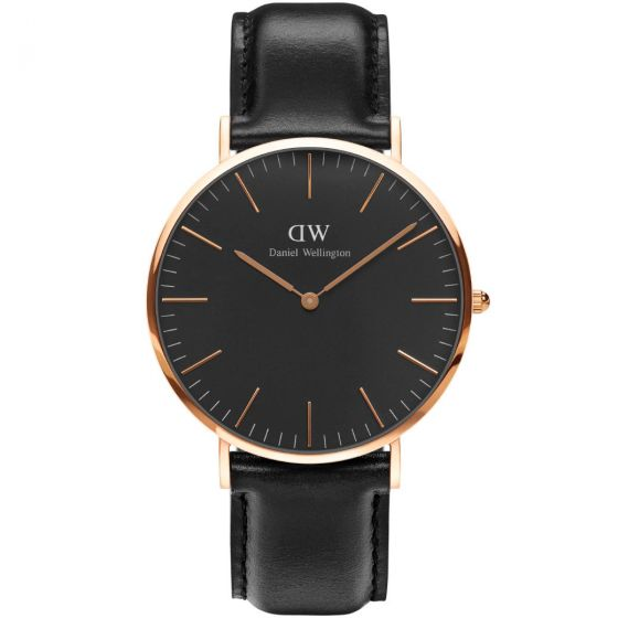 Daniel Wellington - Classic Black Sheffield Ur - Ø40